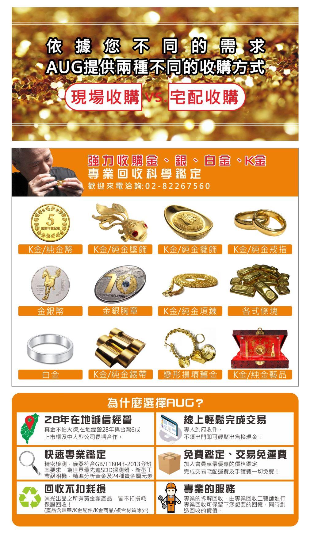 黃金回收服務